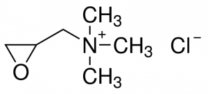 2,3-Epoxypropyltrimethylammonium chloride (Eta), CAS NO .: 3033-77-0