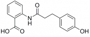 2-[[3-(4-hydroxyphenyl)-1-oxopropyl]amino]-benzoic acid,CAS NO.: 697235-49-7