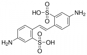 4,4′-Diamino-2,2′-stilbenedisulfonic acid,CAS No.: 81-11-8