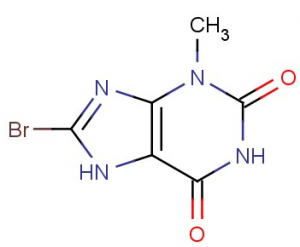 8-Bromo-3-methyl-xanthine,CAS NO.: 93703-24-3