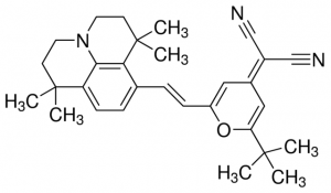 4- (Dicyanomethylene) -2 ثالثي بوتيل 6- (1،1،7،7-tetramethyljulolidin-4-YL-الفينيل) -4H-بيران، DCJTB، CAS NO.:200052-70-6