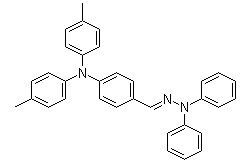(E) -4- [bis (4-methylphenyl) امينو] benzaldehyde 2،2-diphenylhydrazone، CAS د ورآشاپ 906674-39-3