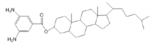 10, 13 -dimethyl-17- (6-methylheptan-2-yl) hexadecahydro-1H-cyclopenta [e] phenanthren-3-yl 3, 5-diami (ES-CH), CAS NO.:281661-68-5
