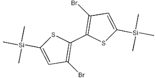 3,3'-dibromo-5,5'-bis (trimethylsilyl) -2,2'-bithiophene, CAS NO .: 207742-50-5